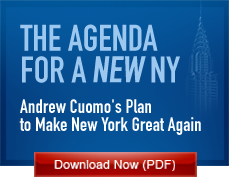 The Agenda for a New NY